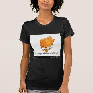 O pássaro Alaranjado-Colorido de Edward Lear Tshirt