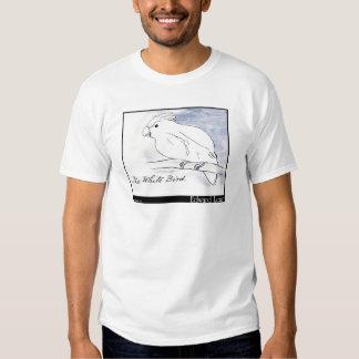 O pássaro branco de Edward Lear Camiseta