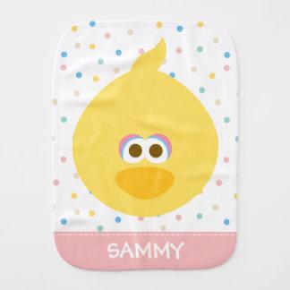 O pássaro grande do bebê | adiciona seu nome fraldas de ombro