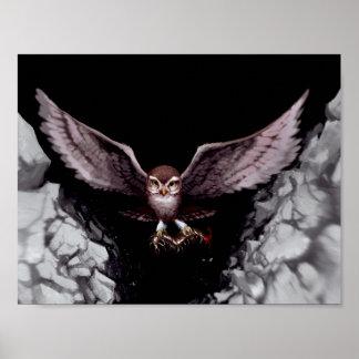O pássaro imortal, poster de Rowling