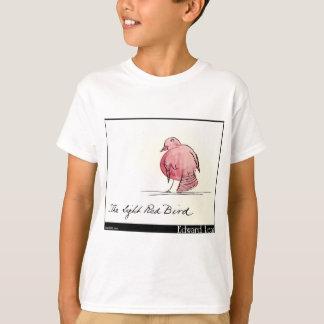 O pássaro vermelho claro de Edward Lear Camiseta