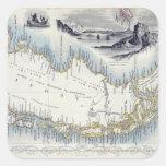 O Patagonia, de uma série de mapas do mundo public Adesivos