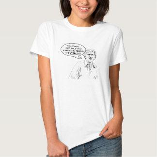 """""""O patamar!"""" A camisa das mulheres Camisetas"""