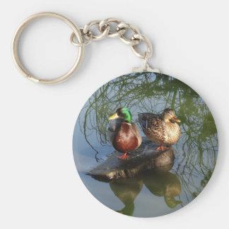 O pato selvagem Ducks o chaveiro #2