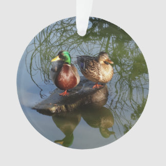 O pato selvagem Ducks o ornamento #2