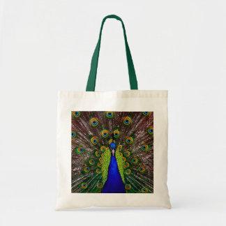 O pavão bolsa tote