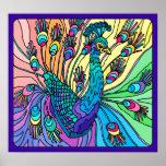 O pavão mostra suas penas: Poster