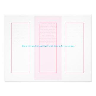 O pavão psicadélico de PixDezines, personaliza-o! Flyer 21.59 X 27.94cm