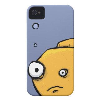 O peixe borbulha o caso 4s do iPhone 4 Capa Para iPhone 4 Case-Mate
