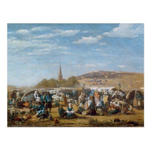 O perdão do Sainte-Anne-La-Palud, Brittany Cartoes Postais
