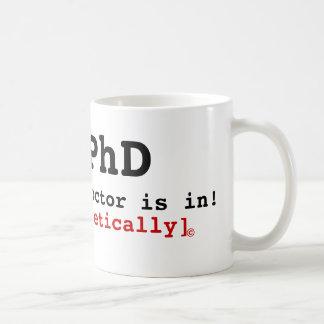 O PhD o doutor está dentro teòrica © Caneca
