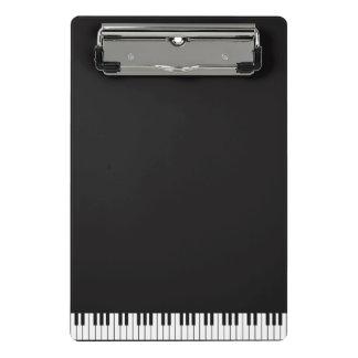 O piano fecha a mini prancheta