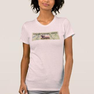 O PIC das senhoras africanas do safari Camisetas