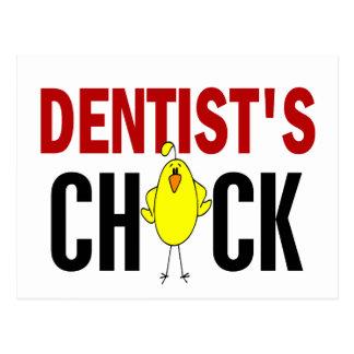 O pintinho 1 do dentista cartão postal