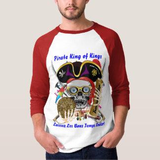 O pirata do carnaval vê por favor notas t-shirts
