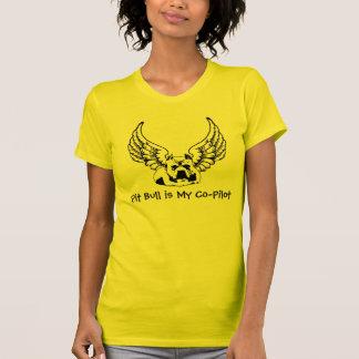 O pitbull é minhas mulheres à moda da camisa do camiseta