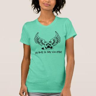 O pitbull é minhas mulheres à moda da camisa do t-shirt