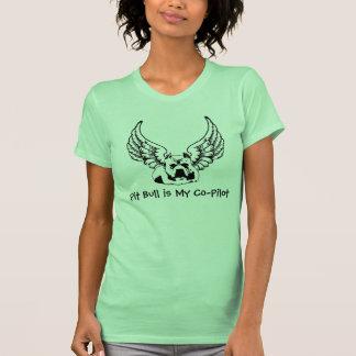 O pitbull é minhas mulheres à moda da camisa do camisetas