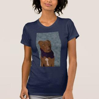 O pitbull triste camiseta