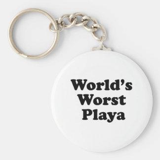 O Playa o mais mau do mundo Chaveiro