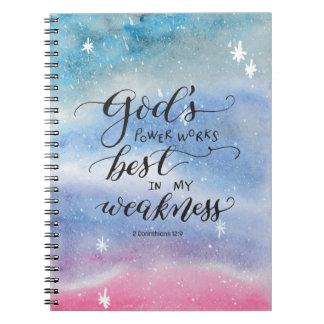 O poder do deus caderno