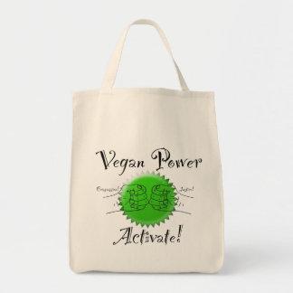 O poder do Vegan ativa a bolsa de compra