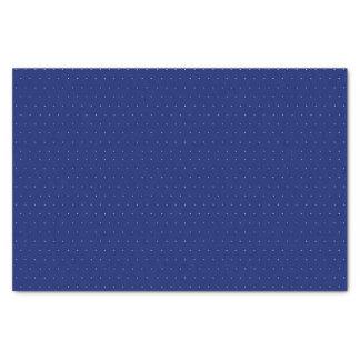 O polca azul pontilha - o lenço de papel 10lb,