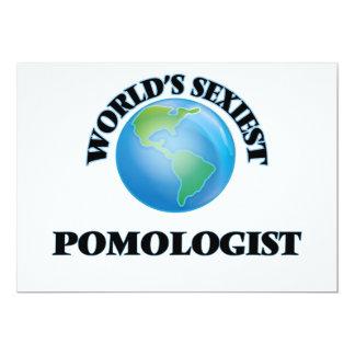 """O Pomologist o mais """"sexy"""" do mundo Convite Personalizado"""