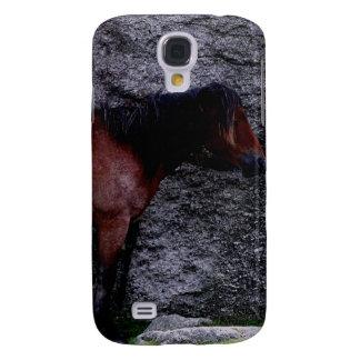 O pônei de Dartmoor que protege o monte do osso Galaxy S4 Case