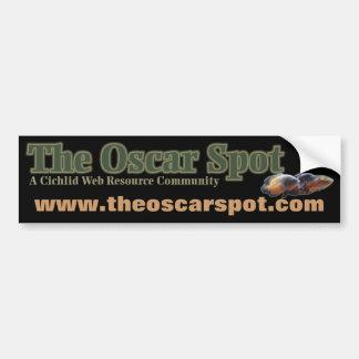 O ponto de Oscar Adesivo Para Carro