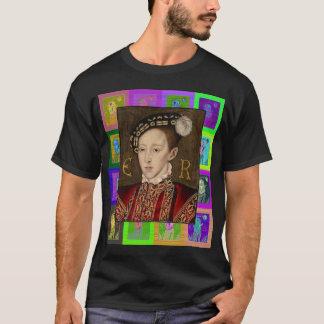 O pop art Edward VI Camiseta