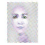 O pop art inspirou o retrato cartão postal