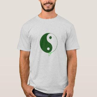 O pop art Yin dos homens & a camisa de Yang