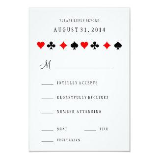 O póquer do casino de Las Vegas carda o cartão