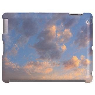 O por do sol nubla-se a caixa do iPad Capa Para iPad