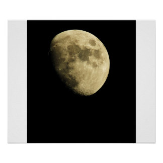 O poster da arte da lua pôster