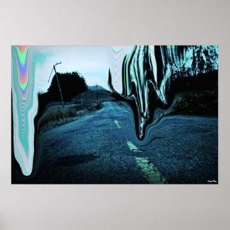 "O poster da estrada X-Grande (38"" x 25,4"")"