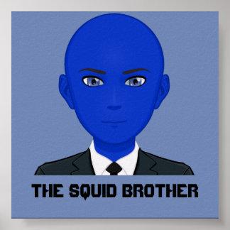 O poster do irmão do calamar