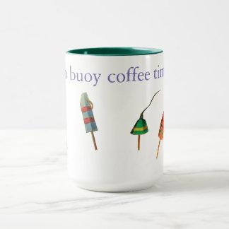 o pote de lagosta buoys a caneca de café