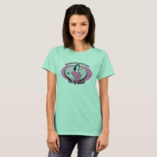O Powerlifting das mulheres/t-shirt da malhação Camiseta
