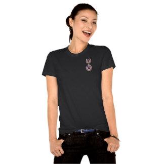 O PRECIOSO JEWELS o broche do amor perfeito do Camiseta