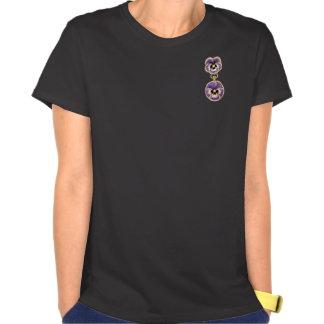 O PRECIOSO JEWELS o broche do amor perfeito do T-shirt