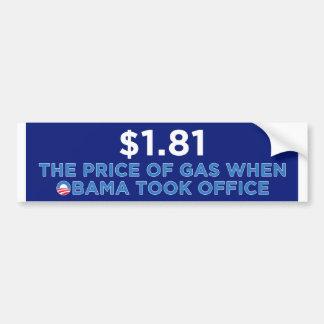 O preço do gás adesivo para carro