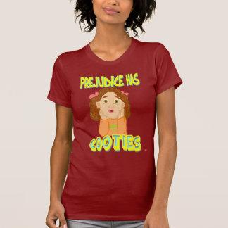 O preconceito tem o t-shirt de Cooties Camiseta