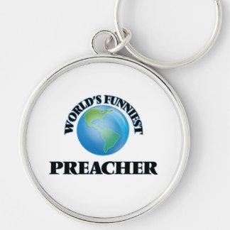 O pregador o mais engraçado do mundo chaveiro