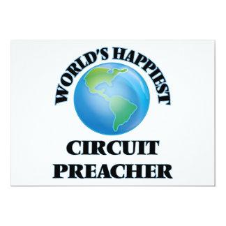 O pregador o mais feliz do circuito do mundo convite 12.7 x 17.78cm
