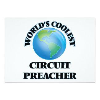 O pregador o mais fresco do circuito do mundo convite personalizados
