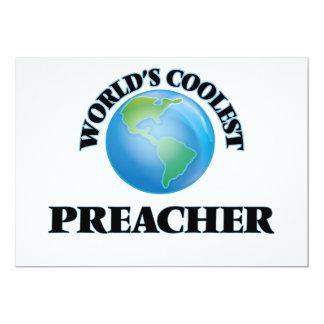 O pregador o mais fresco do mundo convite 12.7 x 17.78cm