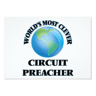 O pregador o mais inteligente do circuito do mundo convites