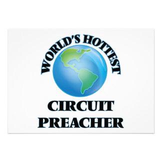O pregador o mais quente do circuito do mundo convites